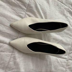 ASOS white heel size 9